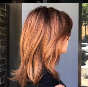 Sophie Copper Hair